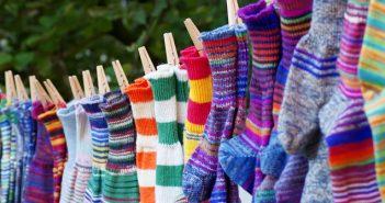 Gestrickte Socken: Eine einfache Anleitung