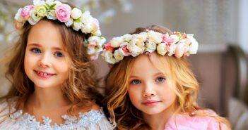 """Kinderfrisuren """"Mädchen"""": Die 11 zauberhaftesten Frisuren für das Jahr 2021 ( Foto: Shutterstock-Elena Sopot19 )"""