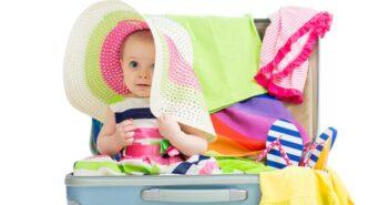 Ich packe meinen Koffer und nehme mit: Packen für den Urlaub mit Kind