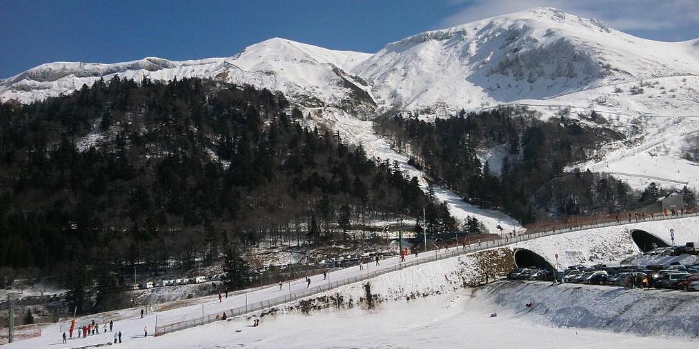 Skigebiete Auvergne: die Station am Mont-Dore nördlich des Puy de Sancy. (#3)